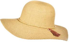 Scala Women's LT172 Beaded Bangkok Floppy Sun Hat