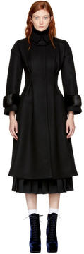 Fendi Black Hourglass Coat