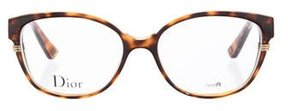 Christian Dior Tortoiseshell Cat-Eye Eyeglasses