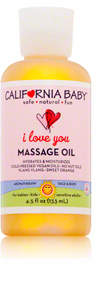 California Baby I Love You Massage Oil