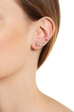 Rivka Friedman Stacked CZ Stud Earrings