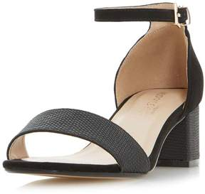 Head Over Heels *Head Over Heels by Dune Black 'Ireena' Mid Heel Sandals