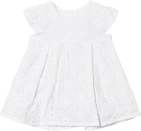 Absorba White Broderie Anglaise Dress