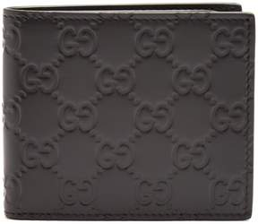 Gucci GG-debossed bi-fold leather wallet