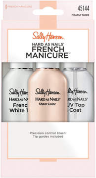 Sally Hansen Hard as Nails French Manicure in Nearly Nude