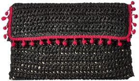 San Diego Hat Company - BSB1703 Rectangular Paper Crochet Clutch Clutch Handbags