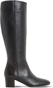 Dune Ladies Black Classic Tarak Leather Boots