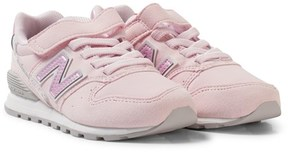 New Balance Pink and Grey 996v2 Trainers