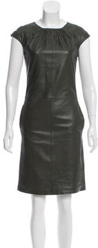 Strenesse Leather Shift Dress w/ Tags