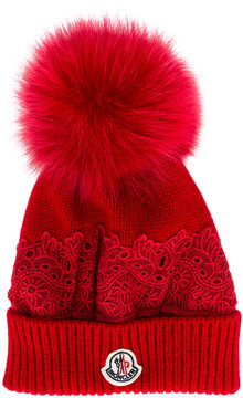 Moncler knitted beanie