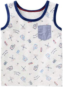Osh Kosh Oshkosh Bgosh Toddler Boy Baseball Tank Top