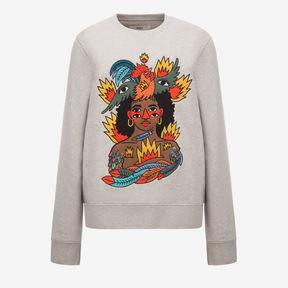 Bally Swizz Beatz Embroidered Sweatshirt