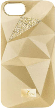 Swarovski Facets Smartphone Case with Bumper, iPhone® 7, Gold Tone