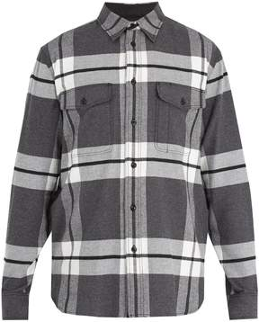 Rag & Bone Jack checked cotton-flannel shirt