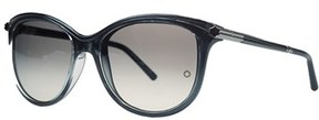 Montblanc Mb471/s 20b Grey Cateye Sunglasses.