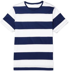 Orlebar Brown Sammy Striped Slub Cotton-Jersey T-Shirt