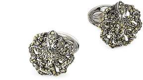 Jan Leslie Men's Marcasite & Sterling Silver Octopus Cufflinks