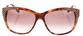 Chloé Tortoiseshell Cat-Eye Sunglasses