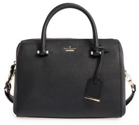 Kate Spade Cameron Street Large Lane Leather Satchel - Black - BLACK - STYLE
