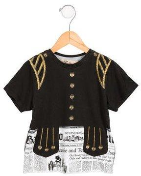 John Galliano Boys' Printed Short Sleeve T-Shirt