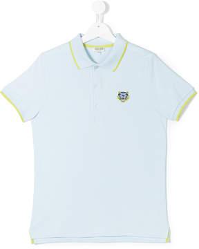 Kenzo Teen Mini Tiger polo shirt