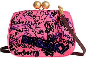Burberry Doodle print clutch bag
