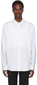 Helmut Lang White Oversized Shirt