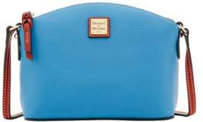 Dooney & Bourke Pebble Grain Ruby Crossbody Shoulder Bag - AZURE - STYLE