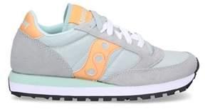 Saucony Women's Grey Suede Sneakers.