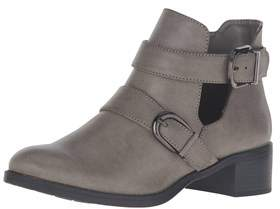 Easy Street Shoes Womens Badge Closed Toe Ankle Fashion Boots.