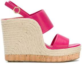 Salvatore Ferragamo high wedge sandals