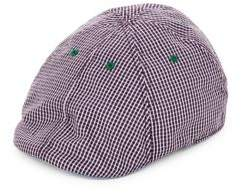 Robert Graham Embroidered & Check Duckbill Cap