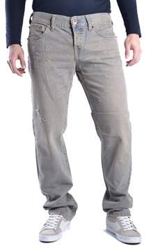 Richmond Men's Grey Cotton Jeans.