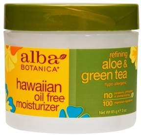 Alba Botanica Oil-Free Moisturizer Cream Refining Aloe & Green Tea