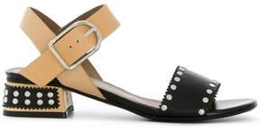 Sonia Rykiel contrast strap sandals
