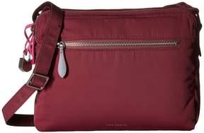 Vera Bradley Midtown Crossbody Cross Body Handbags - BLACK - STYLE