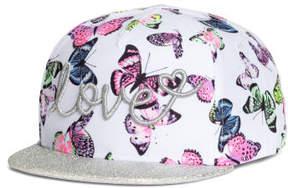 H&M Cap with Glittery Visor - White
