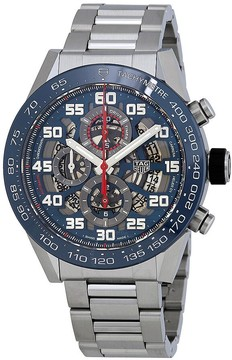 Tag Heuer Carrera Skeleton Automatic Chronograph Men's Watch