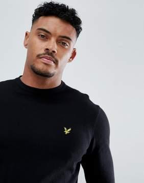 Lyle & Scott Sweater in Cotton in Black