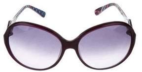 Emilio Pucci Round Tinted Sunglasses