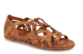 Gentle Souls Women's 'Orly' Lace-Up Sandal