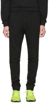 Pyer Moss Black Tattered Lounge Pants