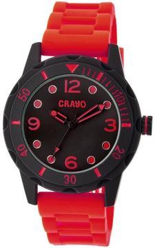 Crayo Splash Collection CRACR2203 Unisex Watch with Silicone Strap