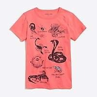 J.Crew Factory Boys' short-sleeve creatures graphic T-shirt
