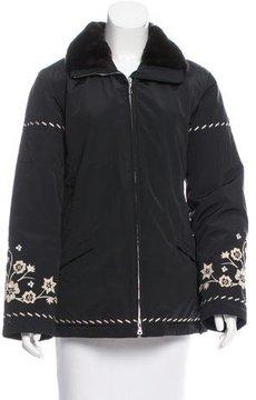 Bogner Embroidered Puffer Jacket