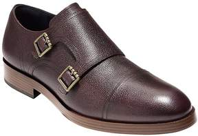Cole Haan Men's Henry Grand Leather Double Monk Straps