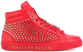 Philipp Plein Fast Car mid-top sneakers