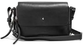 Isabel Marant Tinken Leather Crossbody Bag - Womens - Black