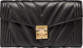 MCM Millie Flap Crossbody In Quilted Leather