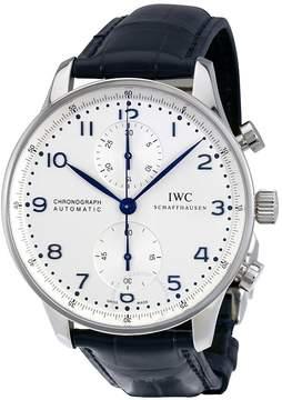 IWC Portuguese Chronograph Automatic White Dial Men's Watch